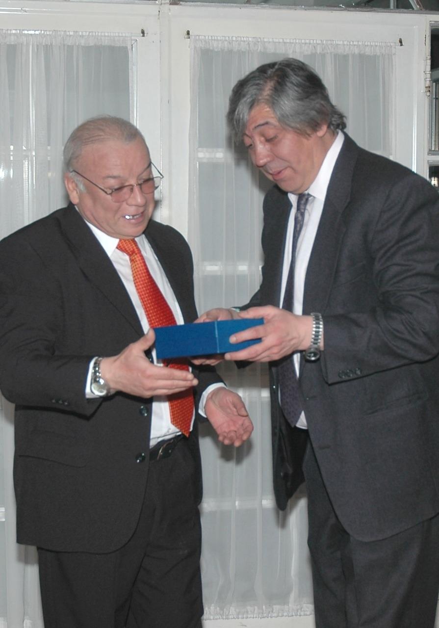 Dos grandes: Guido Vera y Héctor López.