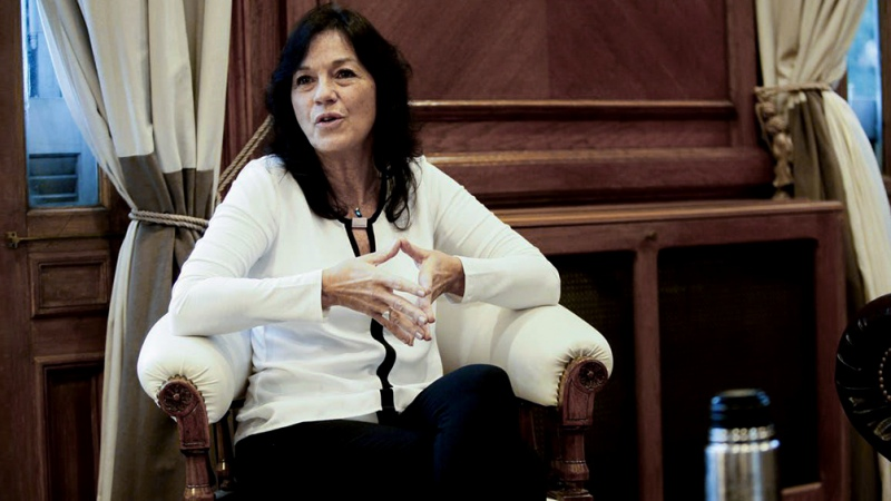 Vilma Ibarra, secretaria de Legal y Técnica.