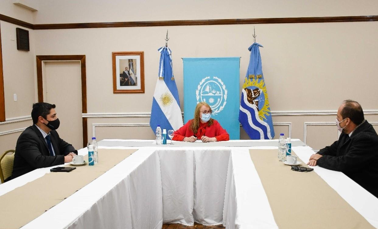 Lisandro de la Torre, Alicia Kirchner y Eduardo Villalba.