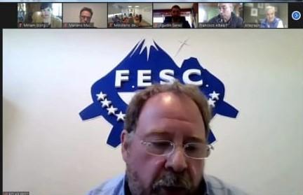 Guillermo Polke. Referente de la Federación Económica de Santa Cruz (FESC).