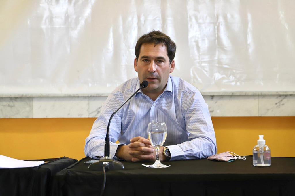 Juan Pablo Luque envió sus condolencias a la familia de Guillermo Mercado