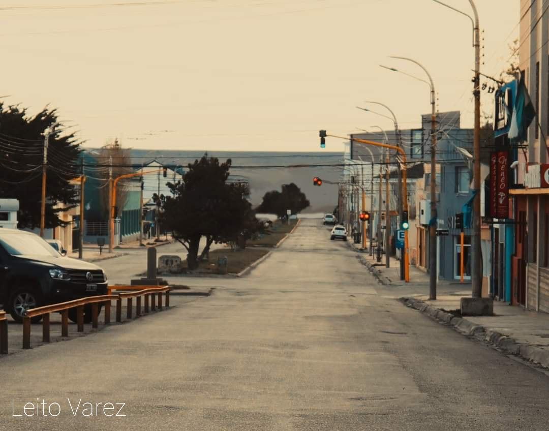 Leo Álvarez simuló cómo se vería realmente el paisaje.