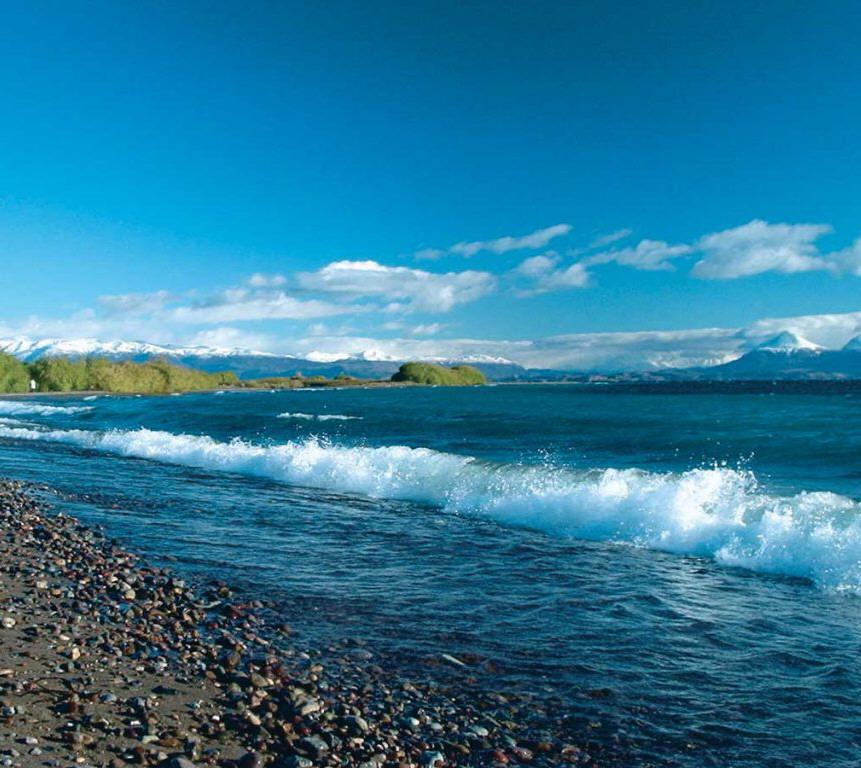 El lago Buenos Aires es el segundo más grande de América del Sur.