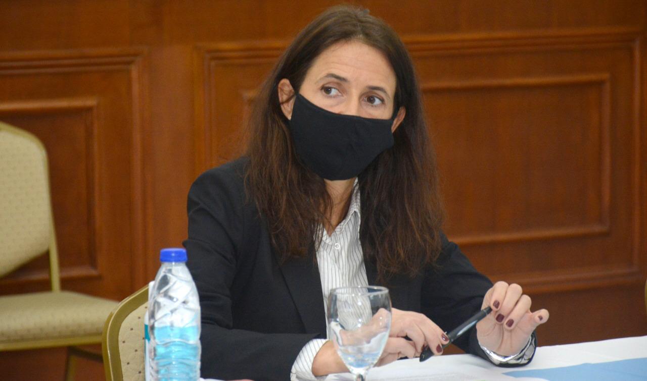 Rocío Campos, secretaria de Estado de Responsabilidad Social de Santa Cruz. FOTO: GOBIERNO DE SANTA CRUZ