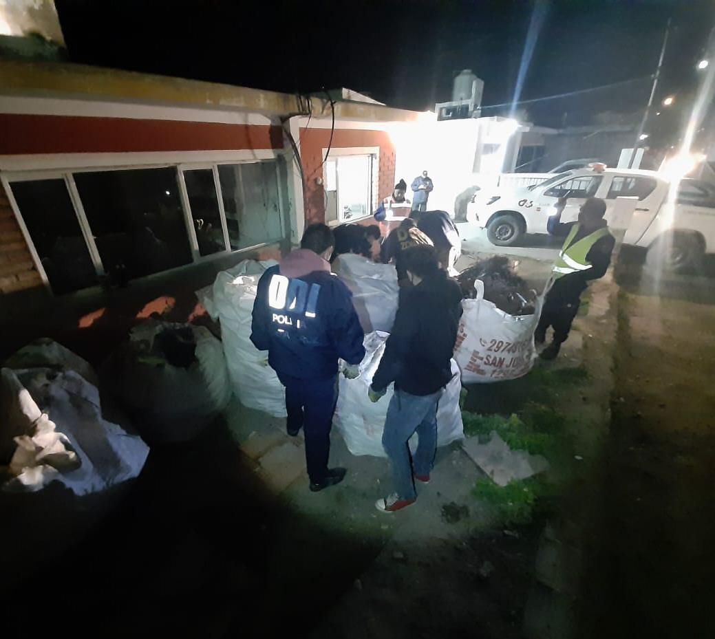 Personal policial dio aviso al Juzgado de Instrucción 1 de la ciudad de Pico Truncado.