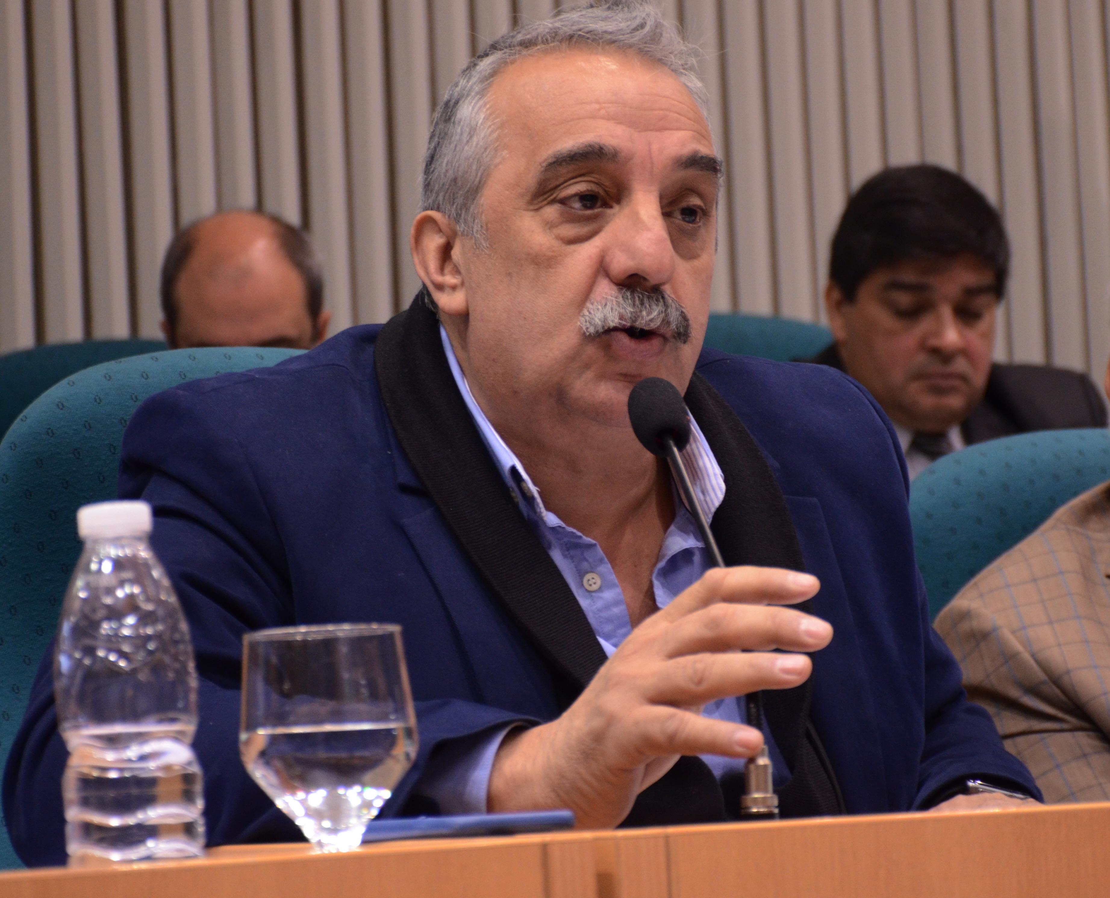 Matías Mazú, diputado provincial del Frente de Todos.