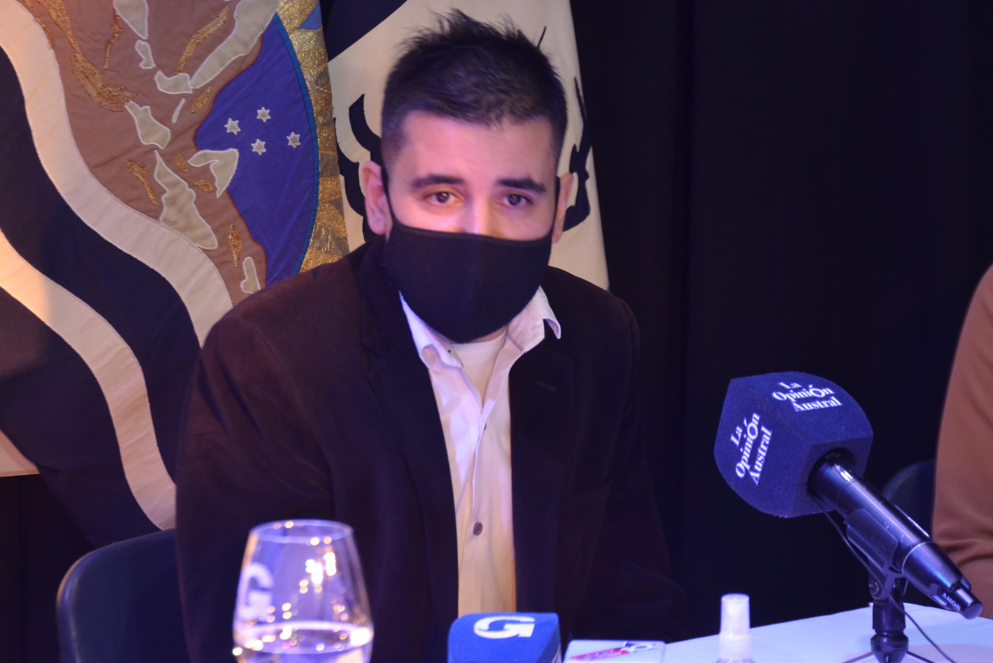 El subsecretario de Transporte de Santa Cruz, Rolando D'Avena.