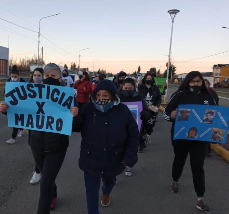 La marcha por el centro de la ciudad. FOTO: KIKE FABBRI