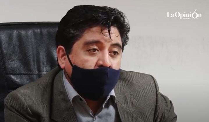 Antonio Andrade. El dolor del juez al recordar el caso que lo marcó. FOTO: JOSÉ SILVA/LA OPINIÓN AUSTRAL