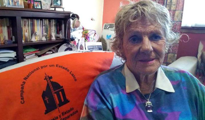 Liliana Rodríguez, psicóloga de la Red de Sobrevivientes de abuso sexual eclesiástico.