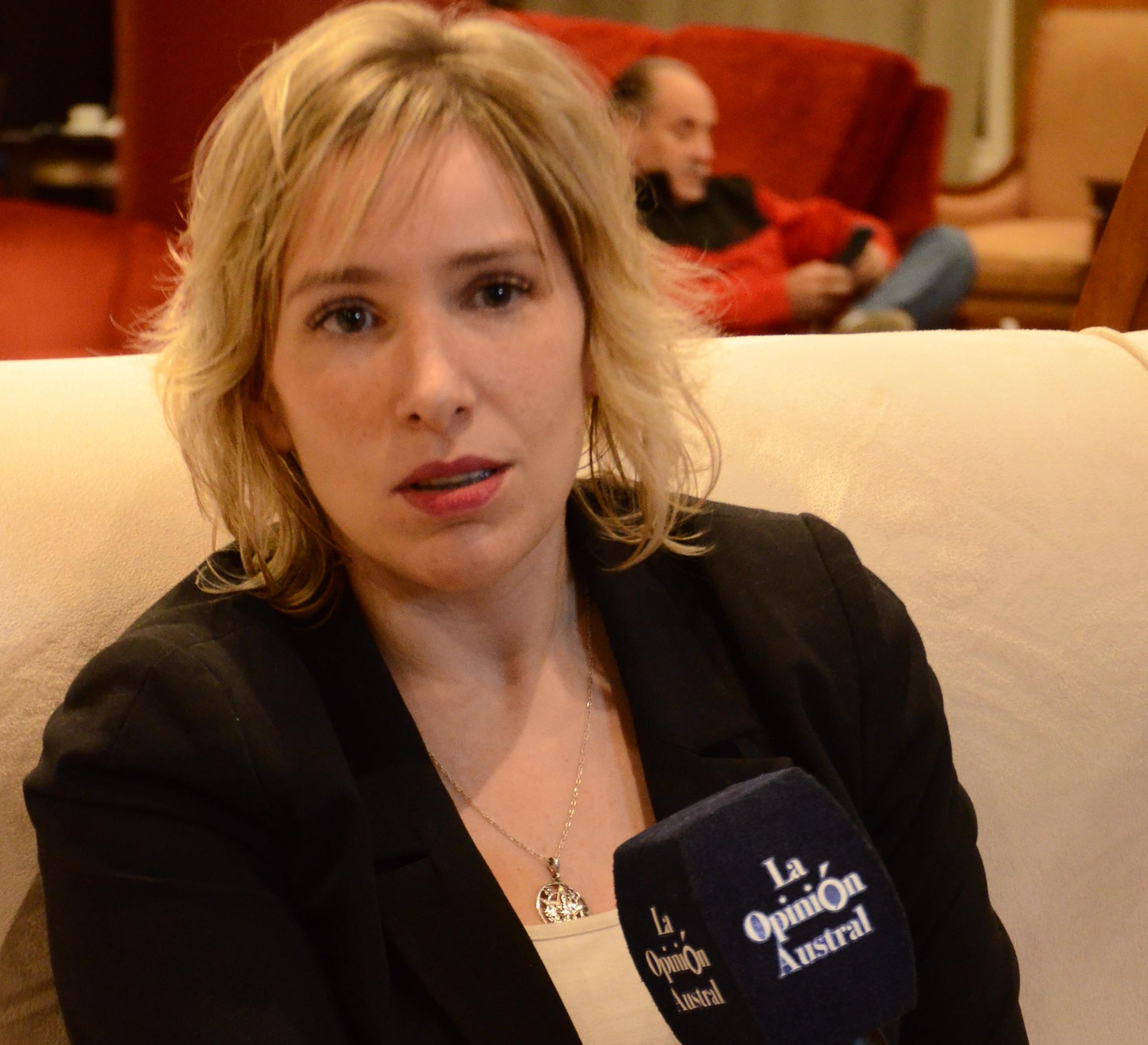 Moira Lanesan Sancho, precandidata a diputada nacional.