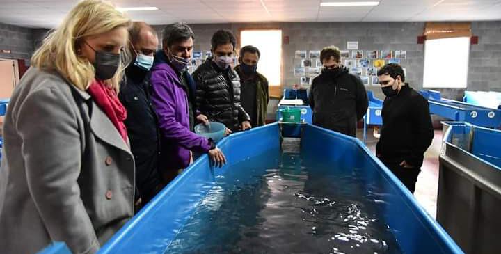 Nación, Provincia y Municipio estudian el crecimiento de la acuicultura en Santa Cruz.