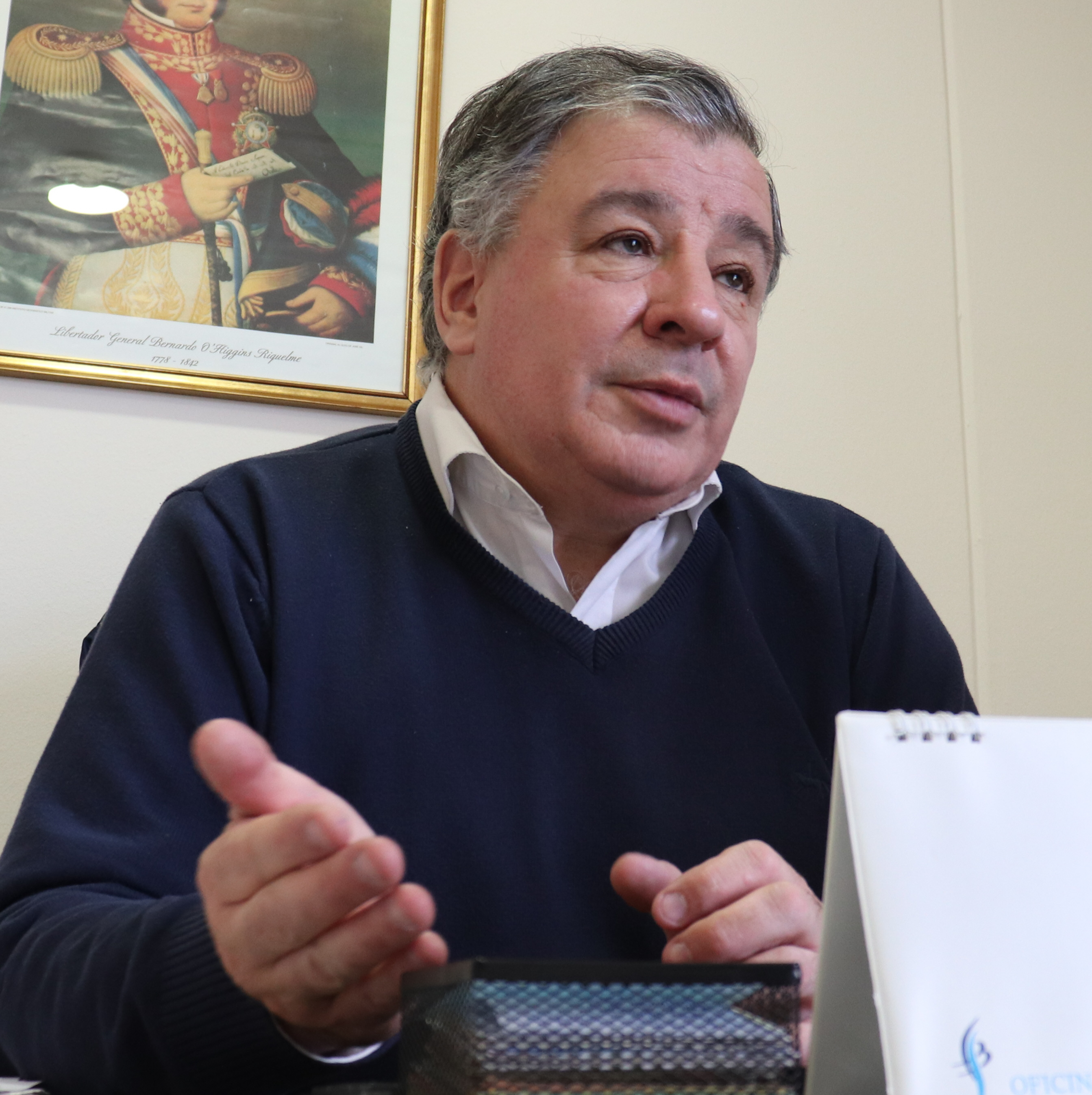 Sergio Valenzuela, cónsul de Chile.