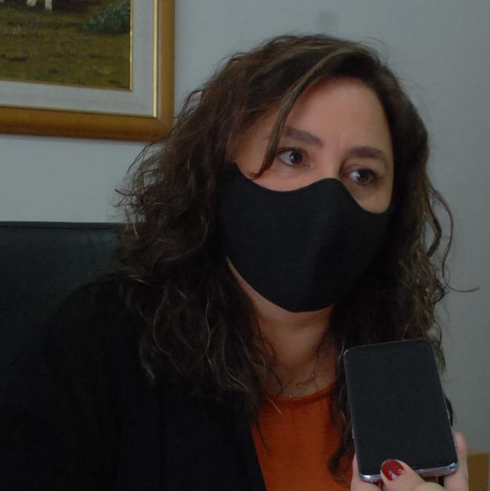 Valeria López Lestón, jueza.