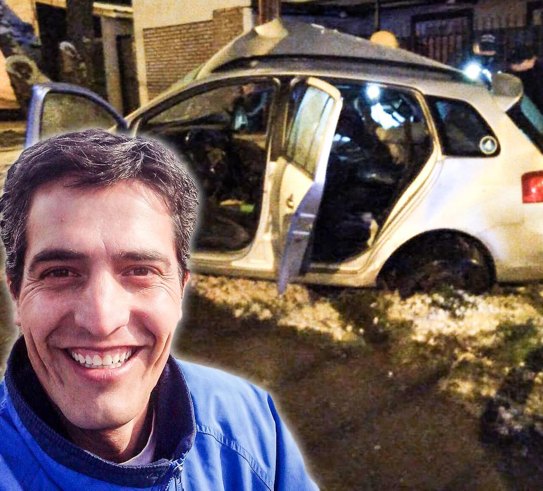 La víctima fatal era Paulo César Cabello, un hombre de 48 años que trabajaba como remisero en El Calafate