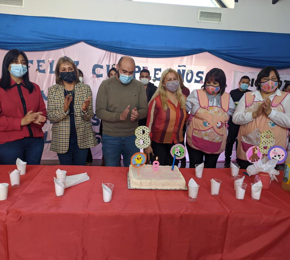 """Aniversario del Jardín Maternal """"Manchitas de Colores"""". FOTO: MUNICIPIO"""