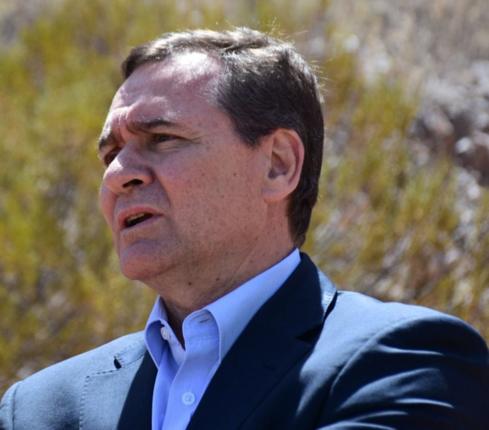 Alberto Hensel, secretario de Minería.