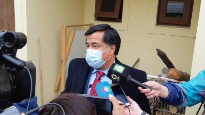 Iván Saldivia, el fiscal tras conocerse la sentencia. (FOTO: JOSÉ SILVA/LA OPINIÓN AUSTRAL)