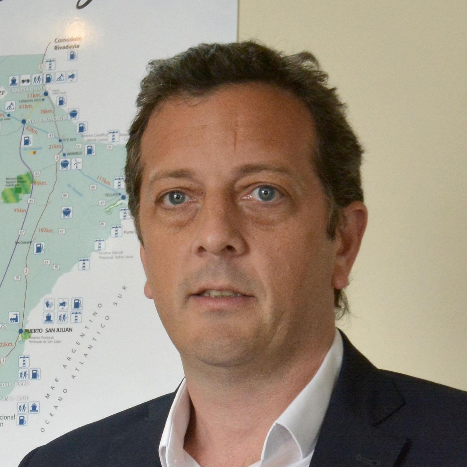 Ignacio Perincioli, ministro de Economía de Santa Cruz.
