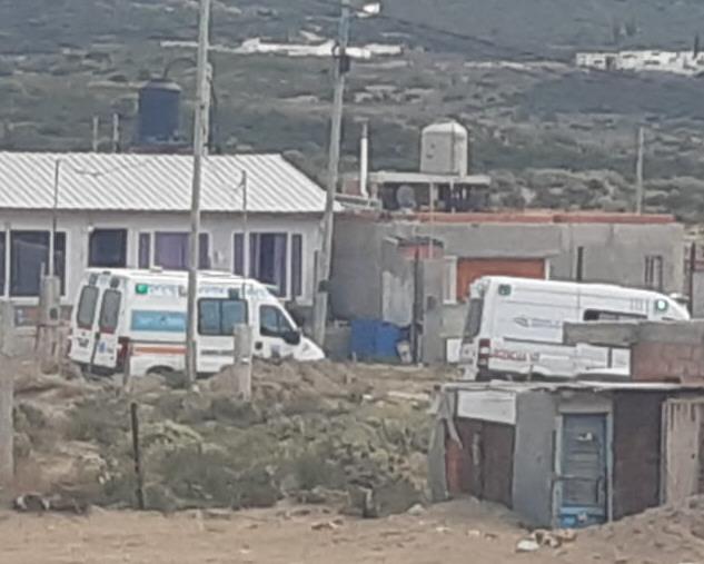 Al lugar llegaron dos ambulancias.